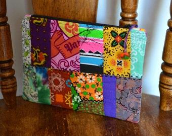 Zipper Pouch All Purpose Pouch Makeup Bag Cosmetic Bag Toiletry Bag Pencil Case Coin Purse Patchwork Zipper Pouch Clutch Gadget Case