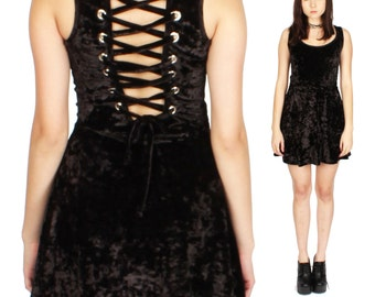 Velvet Corset Dress