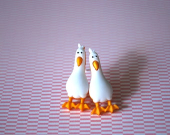 Seagull Earrings -- Finding Nemo Earrings, Seagull Studs, Finding Dory, Seagull, Mine mine mine