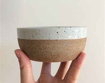 Ceramic Food/Water Bowl for Small Dogs and Cats