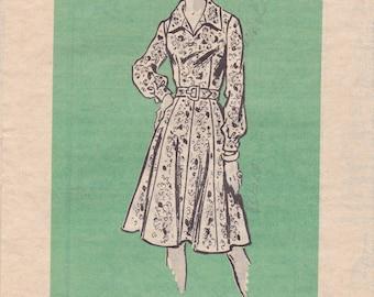 Wrap Around Apron Dress Pattern Butterick 5386 By