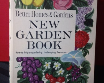 Better Homes & Gardens New Garden Book ~ Vintage 1961 Home Gardening Instructional Binder Book