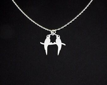 Love Birds Necklace - Love Birds Jewelry - Love Birds Gift