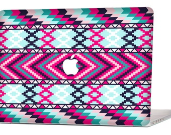 Aztec Pattern MacBook Decal Macbook Stickers Macbook Skin Macbook Pro Cover Laptop Stickers Laptop Skin Laptop Decal
