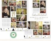 INSTANT DownloadYearbook Ad Templates - 3 Sizes Included - Y1