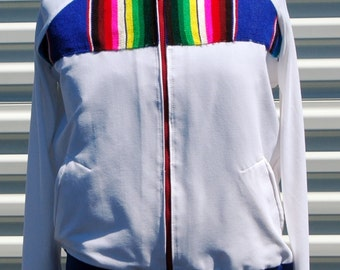 M Mens Bomber Jacket Multi Colored
