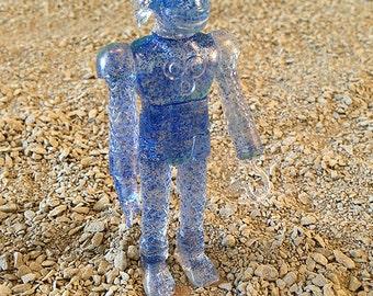 SEA-BORG MUTATION  Wave 2 Plastic Resin Figure - blue glitter