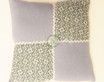 Vintage Quilt Block Pillow, Mini Pillows, Primitive Decor, Accent Pillows, Decorative Pillows, Country Farmhouse Decor