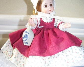 Vermont Maid Madame Alexander 8 inch doll Limited Edition