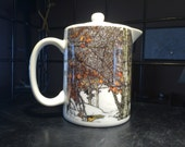 Winter Aspen: Teapot - Creamer - Gravy Pitcher