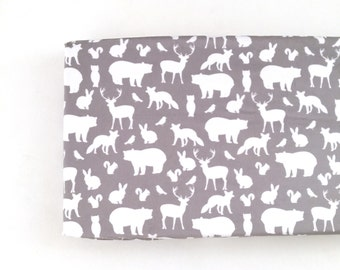 Changing Pad Cover Gray Woodland Party. Change Pad. Changing Pad. Minky Changing Pad Cover. Gray Changing Pad Cover. Changing Pad Boy.