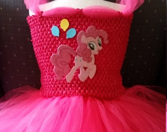Pinkie Pinky Pie,  My Little Pony  Costume Flower Girl Tutu Dress