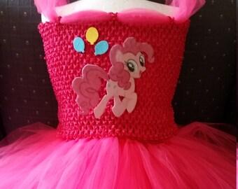 Pinkie Pinky Pie,  My Little Pony  Costume Flower Girl Tutu Dress