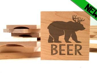 Beer Bottle Opener Coaster