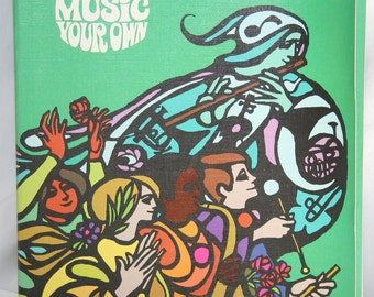 Vintage Music Book - Making Music Your Own Book 2, 1971,  Softcover Teachers Edition, Out of Print, Home Schooling