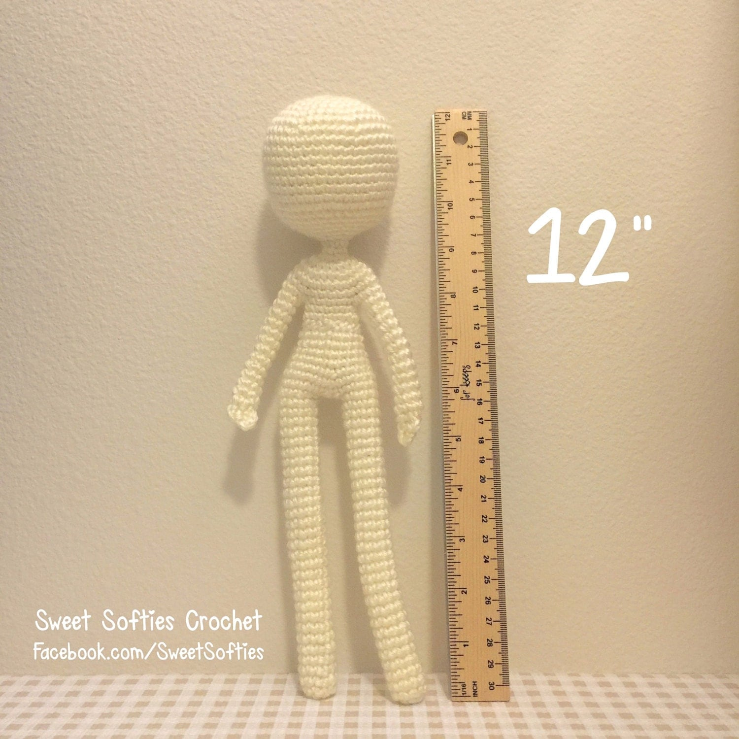 12 Slender Doll Base Amigurumi Crochet Pattern for by Sylemn