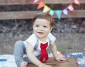 Baby Boy First Birthday One piece bodysuit, Red and Gray, number 1, Photo prop, suspenders and tie, leg warmers, birthday outfit, I'm 1