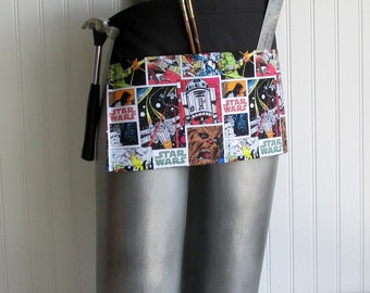 Canvas Utility Apron  - Star Wars Panels