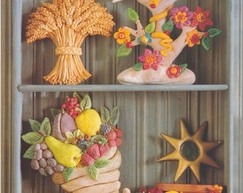 Dough Folk Art - How to Make Beautiful and Lasting Things From Flour, Salt and Water - Cheryl Owen - Traditional to Contemporary Projects