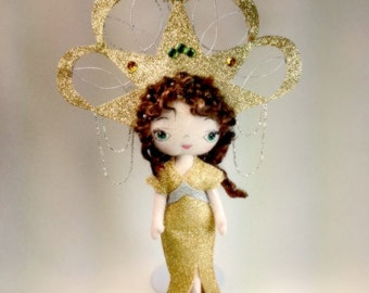 1920s Style Circus Doll