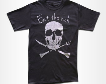 Eat The Rich T Shirt - Graphic Tees for Men, Women, & Children