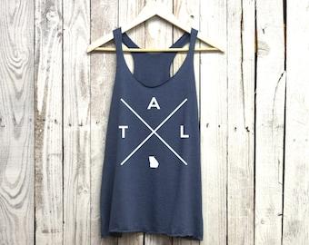 ATL Tank. ATL Womens. ATL Shirt. Women's Tank.