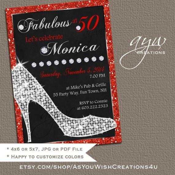 High heels birthday party invitation printable invitation elegant il570xn filmwisefo