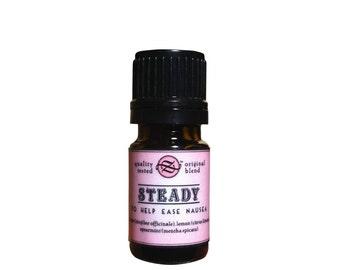 Steady Essential Oil Blend To Help Ease Nausea - 5 ml