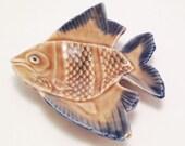 Wade Whimtray: Angel Fish Dish - Vintage Pin tray