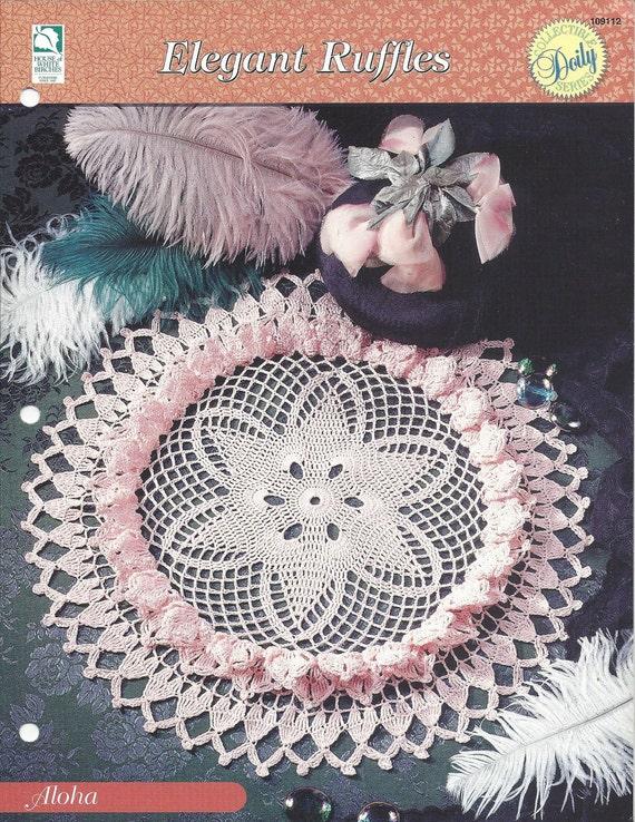 Ganchillo patrón tapete Aloha - tapete colección serie - casa de ...