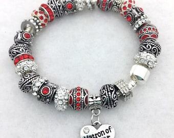 Matron of Honor Charm Bracelet