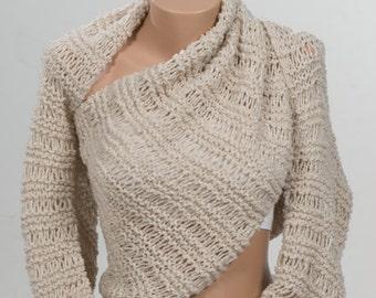 STONE Knitting Extra Long Scarf . Bolero or Shawl or Scarf. Scarf Wrap. Trend Valentine Scarf. Fashion Bolero.