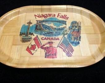 Vintage Niagara Falls Tray