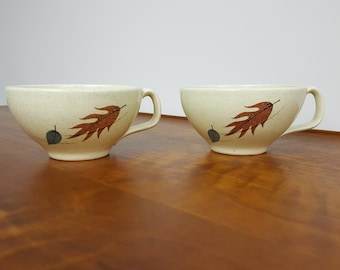 Two - Franciscan Autumn Leaves Cups