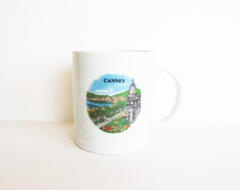 SALE! Additional 50% Off - Code LVS50 - Vintage Cannes, France Mug