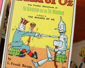 WIZARD of OZ Books Set of 7 HC Reilly and Lee White Cover editions Printed c1964 -1965