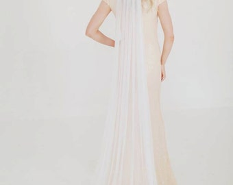 Calista - English Silk Tulle veil