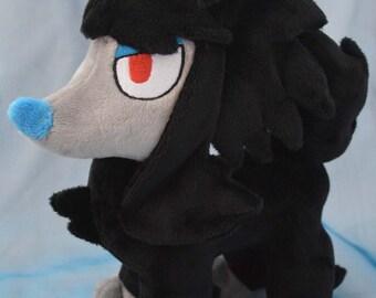 Pokémon XY Shiny Furfrou Custom Plush - Made to Order