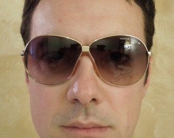 """Authentic """"Carrera"""" Porsche Design Vintage Foldable Sunglasses 80s Unisex"""