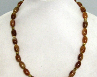 Citrine Necklace - Golden Citrine Necklace