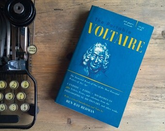 The Viking Portable Voltaire - Viking Portable Library 1956 Paperback