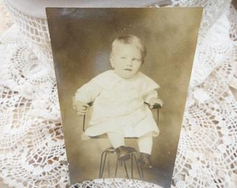 Antique Photo Baby Boy