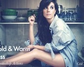 Cold & Warm Bliss - 2 Photoshop Actions INSTANT DOWNLOAD