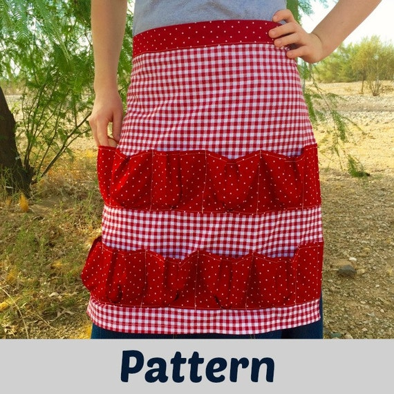 Egg Gathering Apron Pattern by ReformStead on Etsy