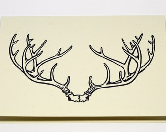 Antler Greeting Cards