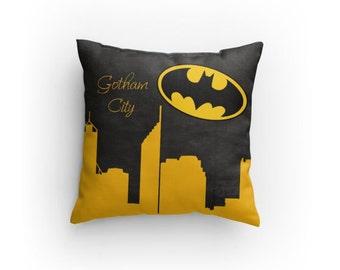 Gotham City Batman Pillow