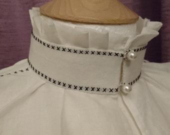 Elizabethan partlet - made to order