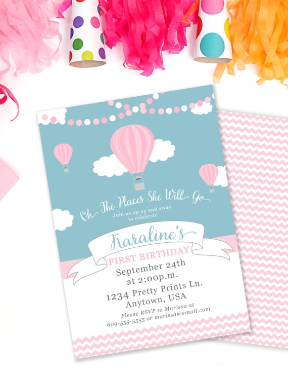 Hot air balloon birthday invitation oh the places invite up and il570xn filmwisefo