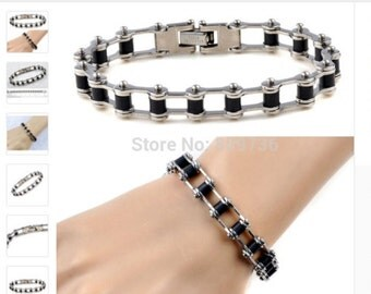 On sale. Best deal, great quality, mortocycle bracelet, great for gift.