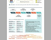 Infographic Resume Design | Designed for You | Resume Design | Creative Marketing Resume | Picture Resume | Icon Resume |Professional Resume
